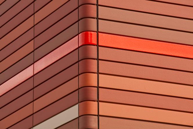 терракотовые панели на фасаде