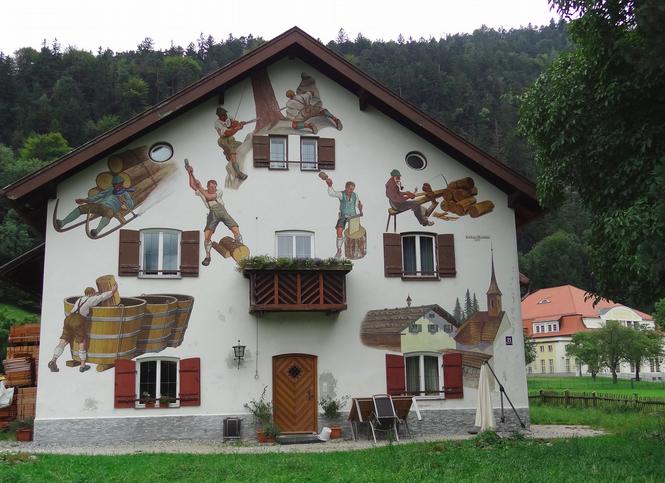 Росписные фасады