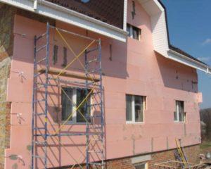 утепление фасадовчастных домов пенополистиролом