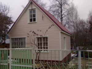 Фасад из винилового сайдинга