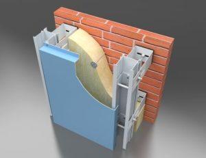 как навешивать кассету на фасад