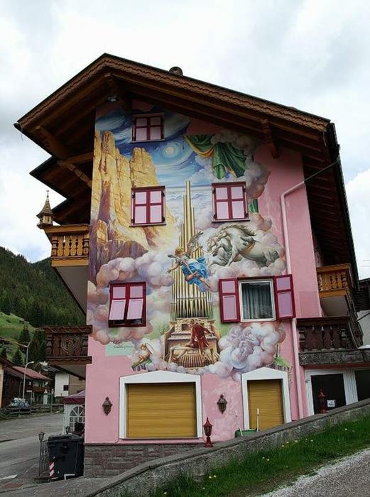 Баварская архитектура фасадов