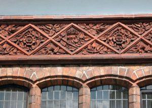 архитектурная керамическая панель