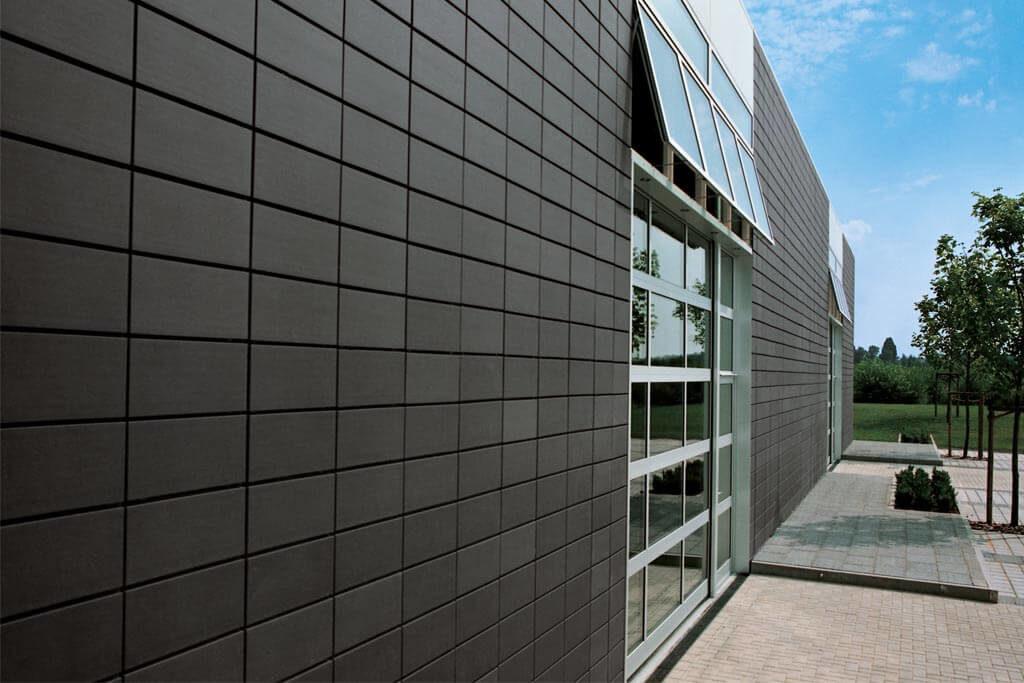 Фасад из керамики