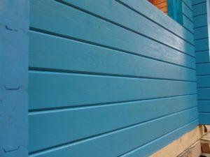 Фасад окрашенный акриловыми красками