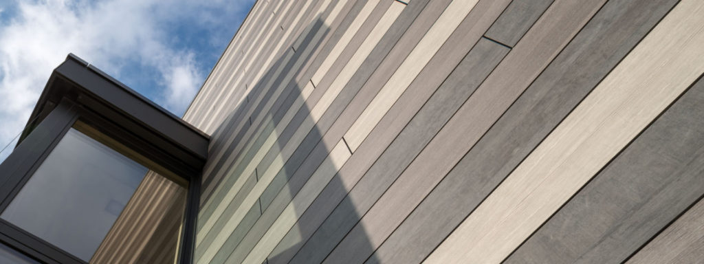 Как выглядит hpl панель на фасаде