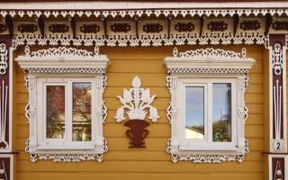 Деревянные наличники на окна: делаем своими руками