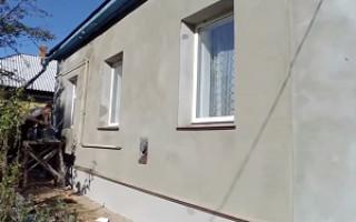 Инструкция по шпатлевке фасада морозостойкой цементной или акриловой под покраску шпаклевкой