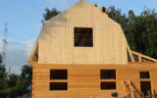 Как обшить дом вагонкой снаружи: последовательная технология работы