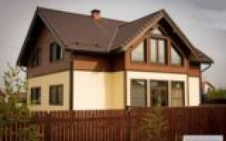 Виды фасадов частных домов