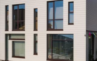 Виды и цены вентилируемого фасада для частного дома