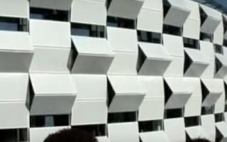 Кинетический фасад – живая архитектура будущего