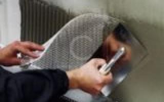 Как применяется армирующая сетка для мокрого фасада