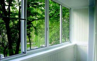 Балконное остекление алюминиевым профилем