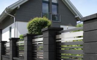 Заборы для загородного дома