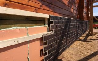 Чем закрыть фундамент дома снаружи дешево и красиво