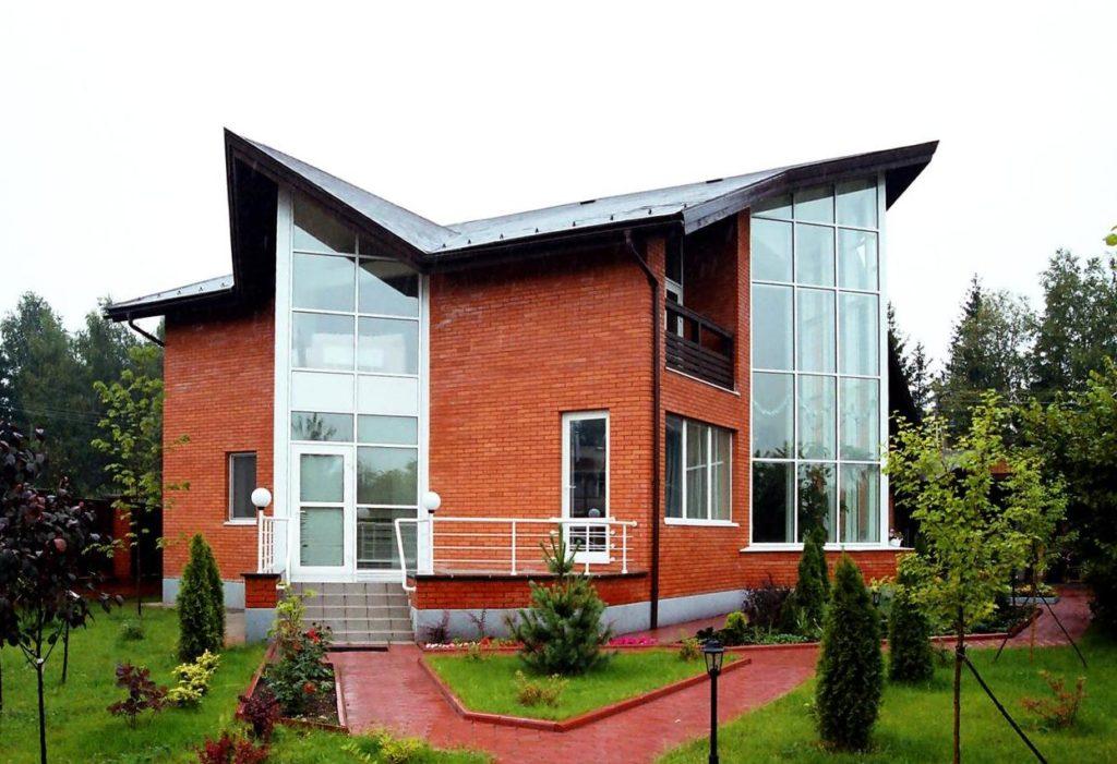 Как оформить фасад частного дома