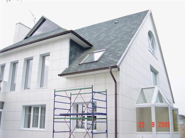 способы отделки фасадов