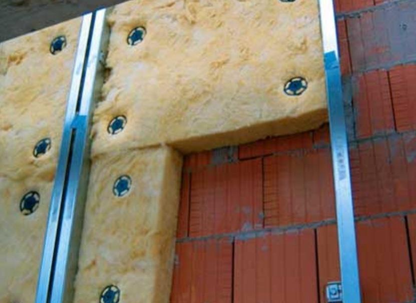 Утепление фасада минватой под штукатурку - инструкция к прим.