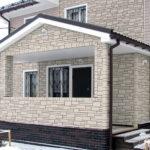 Отделка фасадов панелями под кирпич или под камень
