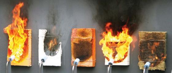 Самостоятельные испытания на горючесть материалов