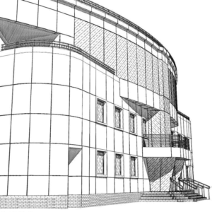 проект кассетного фасада