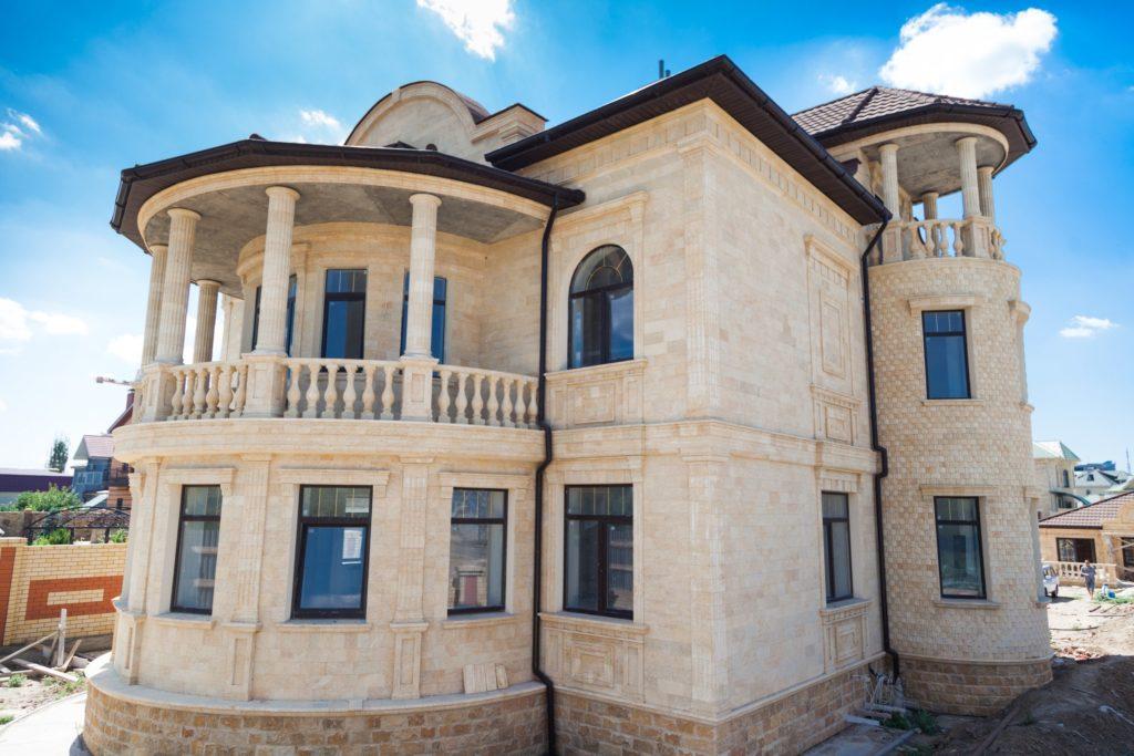 дагестанский камень облицовка фасада