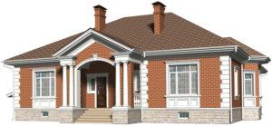 Английская архитектура фасада