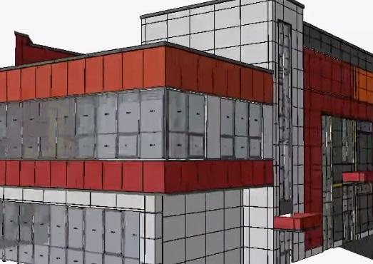 Проект навесного вентилируемого фасада