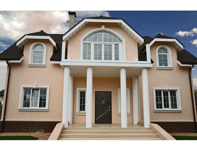 Классическая архитектура фасада