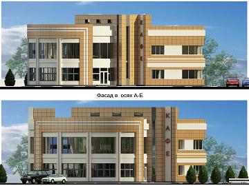 Проект здания на керамограните