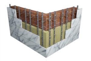 декоративные фасадные панели под камень