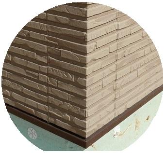 угол японской фиброцементной панели