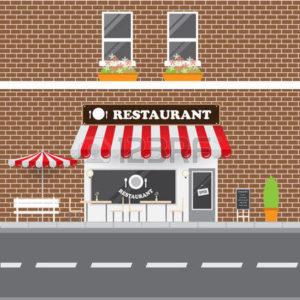 дизайн фасада недорого кафе