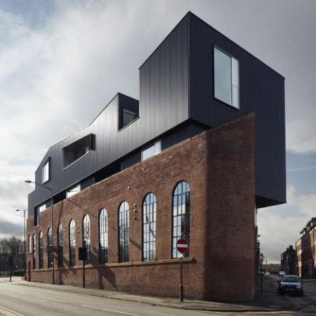 дизайн фасада ресторана в стиле модерн
