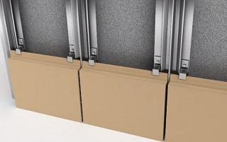 Терракотовые клинкерные панели на вентилируемый фасад