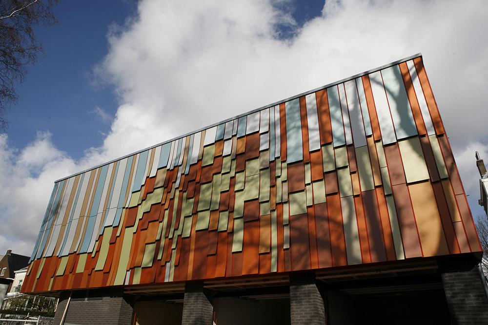 Фасадный керамогранит, подходящий для технологии «вентфасад»
