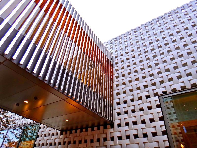 Современная архитектура здания
