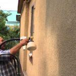 Окраска фасадов частных домов