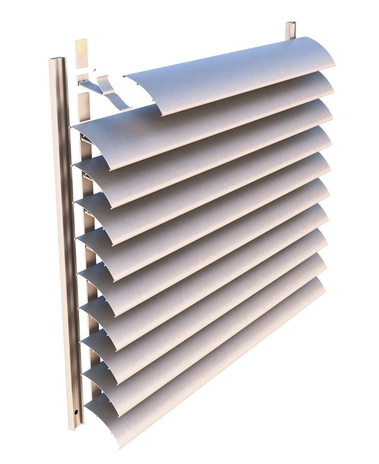 Алюминиевые ламели