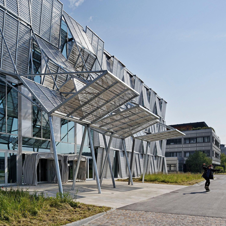 современный фасад