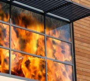 противопожарные витражи не открываются изнутри