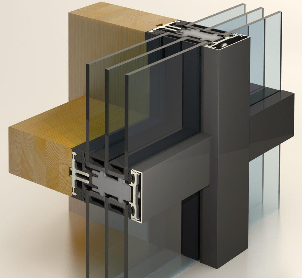 Изготовление алюминиевых витражных конструкций