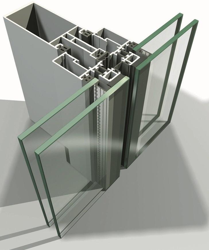 Элементы структурного остекления