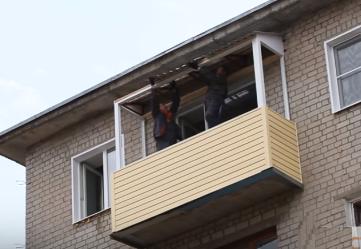 Инструкция по обшивке балкона сайдингом своими руками ??.