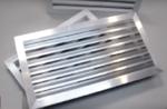 Вентиляционные решетки наружные металлические фасадные