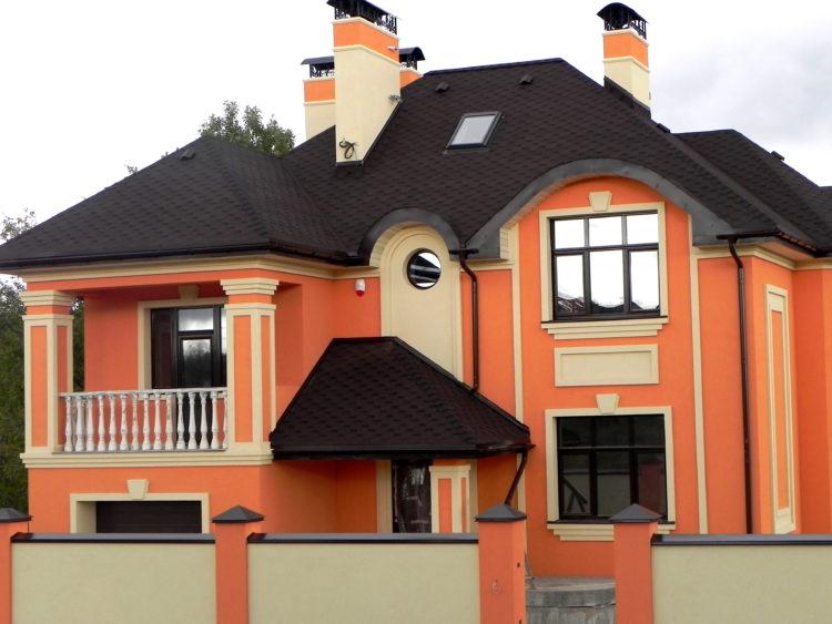 Вариант дизайна фасада