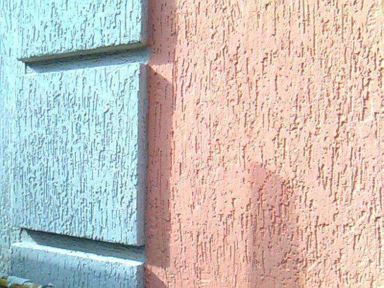 Варианты фасадной штукатурки