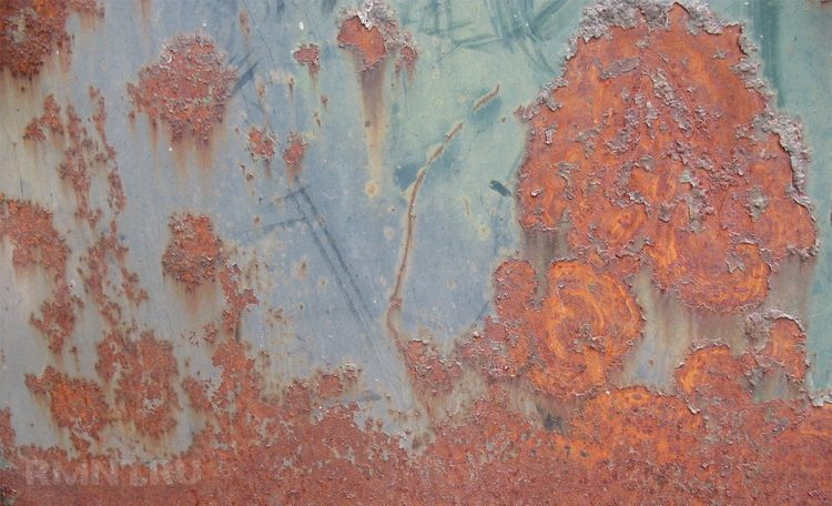 краска для окрашивания металлических поверхностей по ржавчине