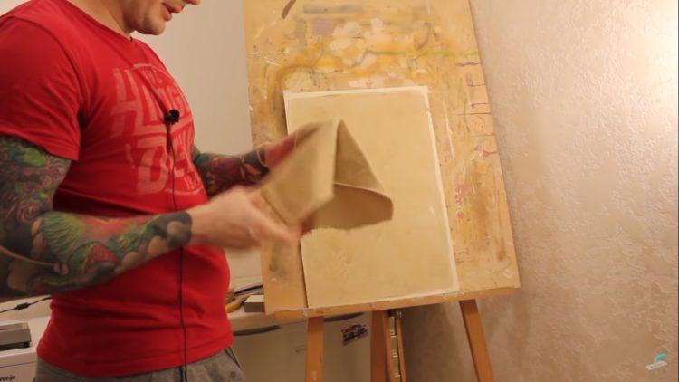 венецианская штукатурка для внутренней отделки стен своими руками